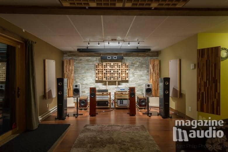 Contexte d'écoutes comparatives chez Pro Design Audio