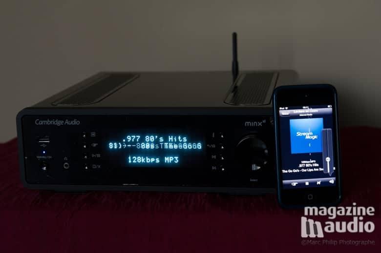Cambridge Minx Xi et radio Internet