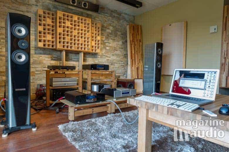 Essai du DAC Concero HD avec les Genesis 7.2f chez Pro Design Audio.