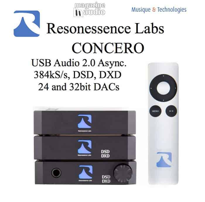 USB DAC Concero by Resonessence Labs