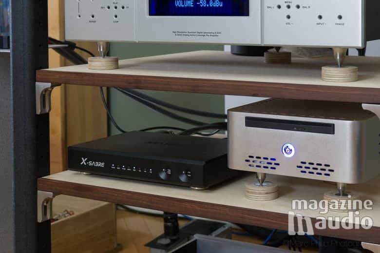 Matrix DSD Sabre et CeolBOX NAS