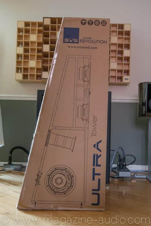 Dessin en coupe SVS Ultra Tower