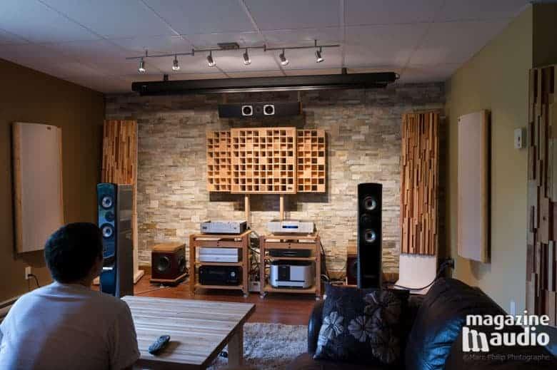 Contexte d'écoutes des Genesis 7.2f chez Pro Design Audio