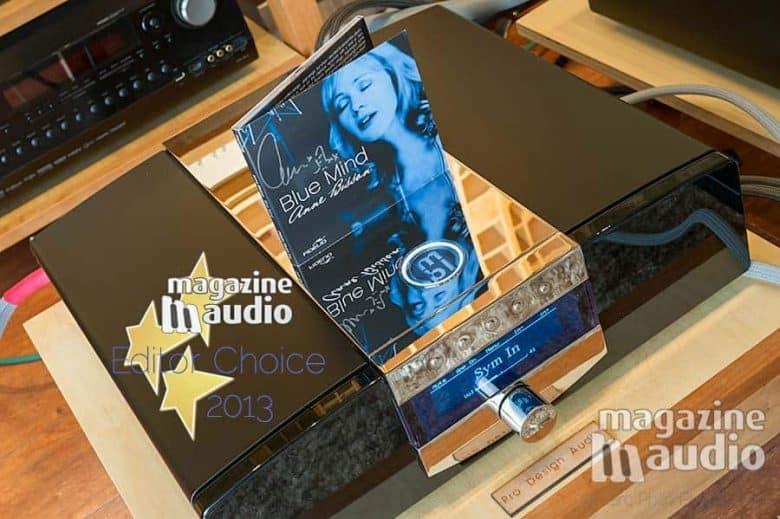 """Achat recommandé pour cet amplificateur intégré MBL C51 et l'album de Anne Bisson, """"Blue mind"""", un must have."""