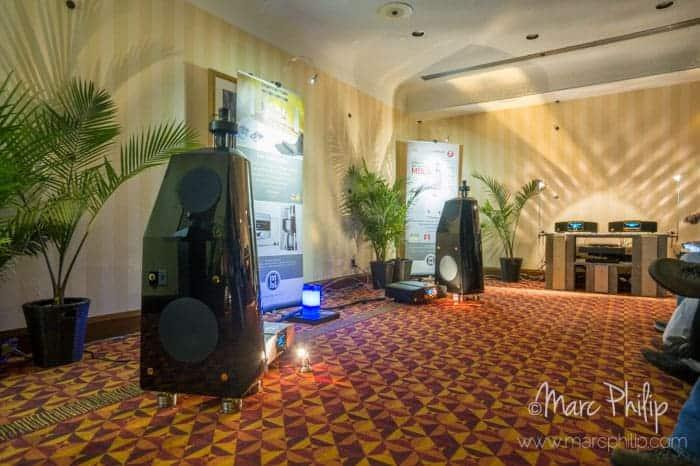 Système MBL de la Corona line présenté au Montreal Audio Show 2014