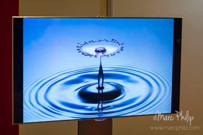 Ecran UHDTV par Samsung