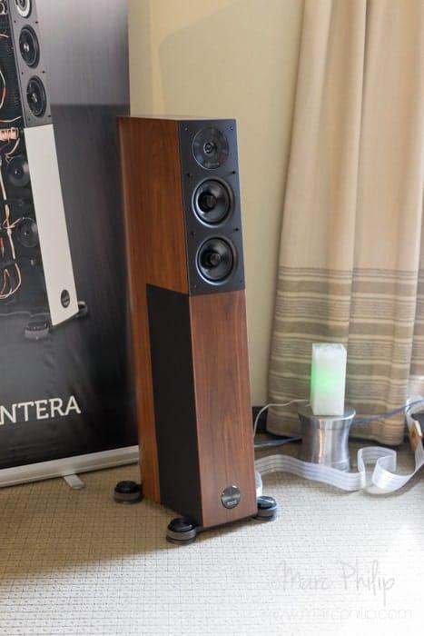 Enceinte acoustique Audiophysic par Goerner Communication