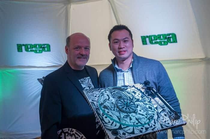 Michel Plante et Trevor Wong