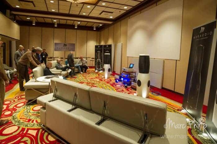 Muraudio Domain Omni PX-1 au Montreal Audio Show 2014