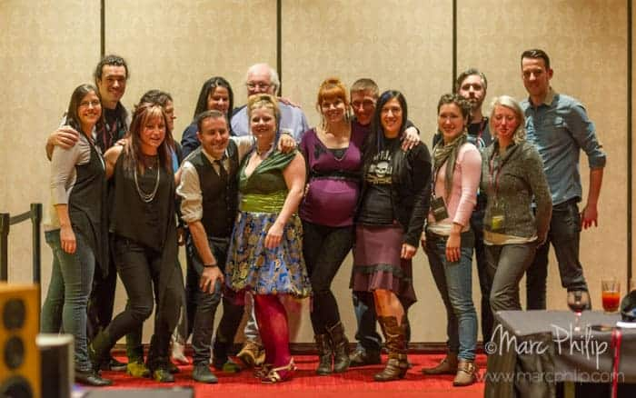 L'équipe du Montreal Audio Show 2014