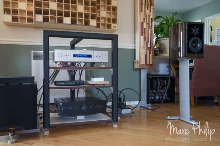 Amplificateur intégré BC Acoustique 332D + Relay de Mass Fidelity + Lafleuraudio X1