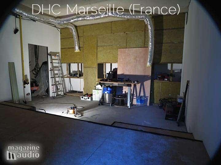 Projet DHC par Didier Autric, l'isolation phonique des murs
