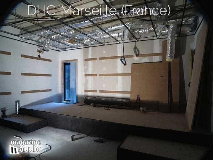 Structure au plafond et finition des murs, par Didier Autric (DHC)