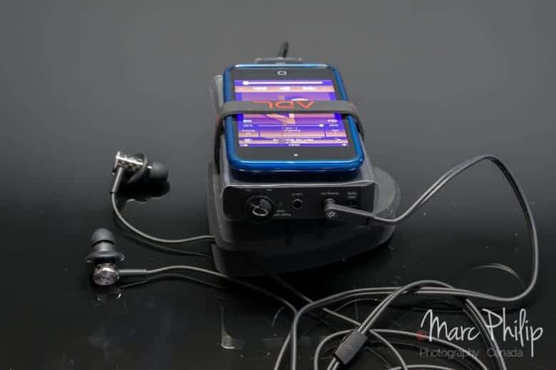iPod 4 sur ADL X1 et EH008 Headphones