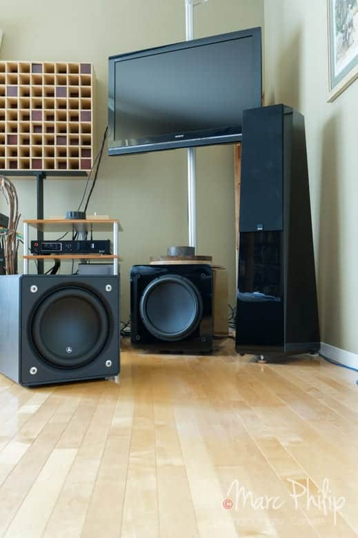 JL Audio E112 et SVS 13 Ultra
