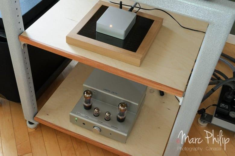 Le Relay de Mass Fidelity (250$) + l'ampli TU-8200 (765$), un match presque parfait