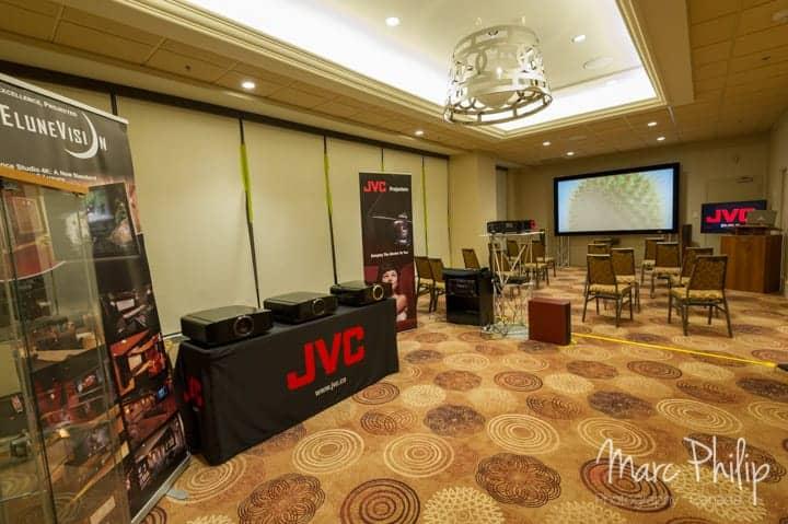 Elunevision et JVC au TAVES 2014