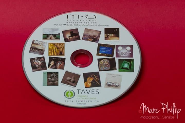 Compilation CD de M.A Recording pour le TAVES 2014