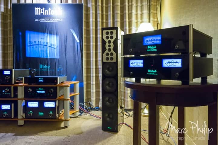 McIntosh une présentation de Audio Excellence au Taves 2014