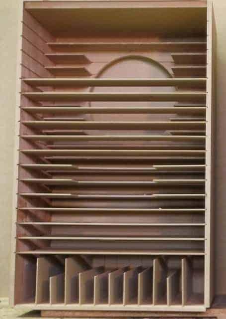 Vue interne d'une enceinte acoustique Coherent Audio