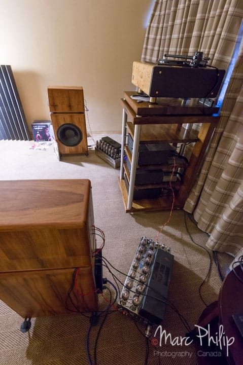 Euphoria Speaker Design, The Bullet ll et amplis à tubes pour le show