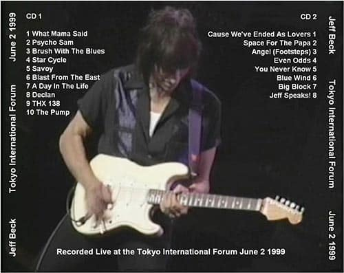 Jeff Beck: Space For The Papa