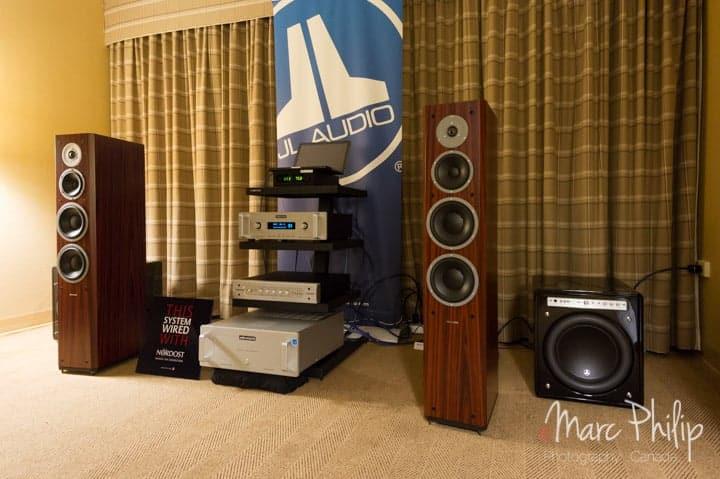 Système JL Audio au TAVES 2014