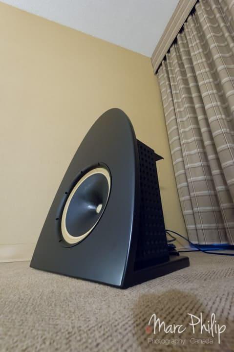 Haut-parleur développé par r2r