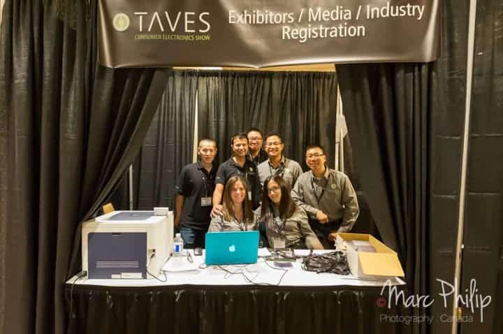 L'équipe dévouée au bon déroulement du TAVES 2014