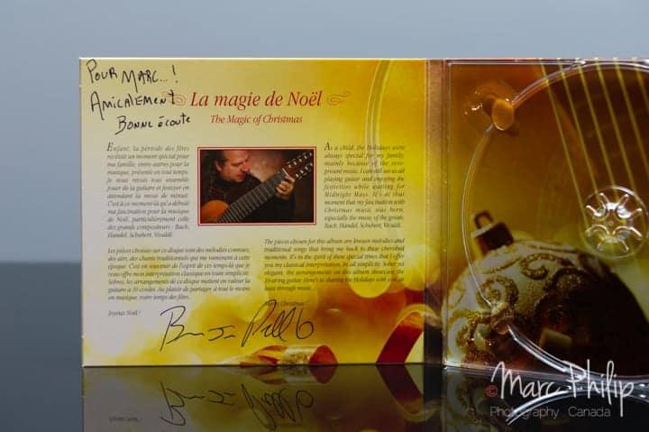Airs traditionnels de Noel par Bruno-Jacques Pelletier à la guitare classique à 10 cordes.