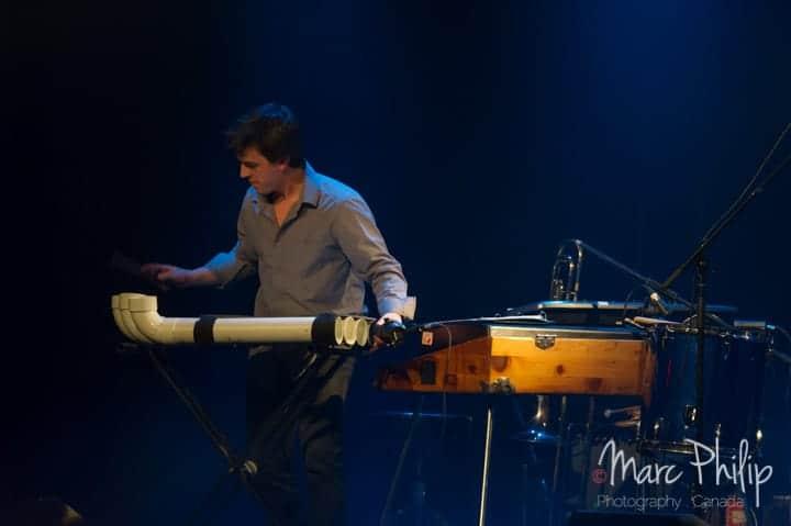 Benoit Rocheleau (clavier / multi-instrumentiste) accompagne Salomé Leclerc