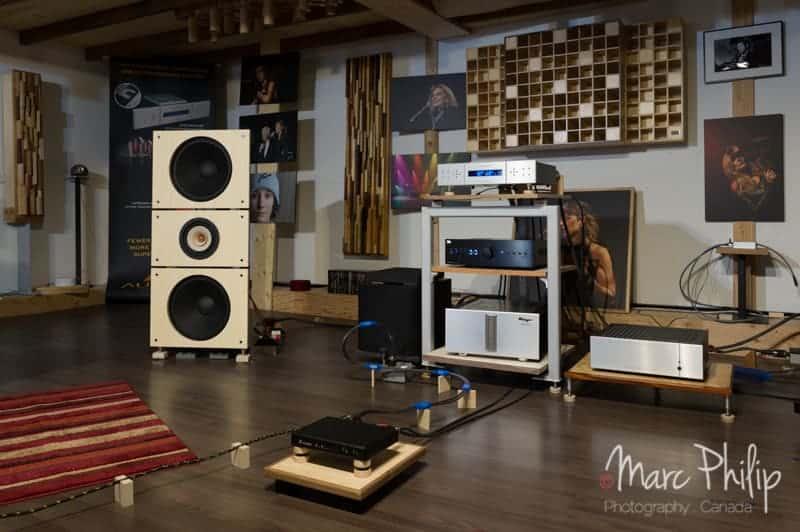 PureAudioProject 15TB et BC Acoustique EX335D, un mariage du tonnerre.