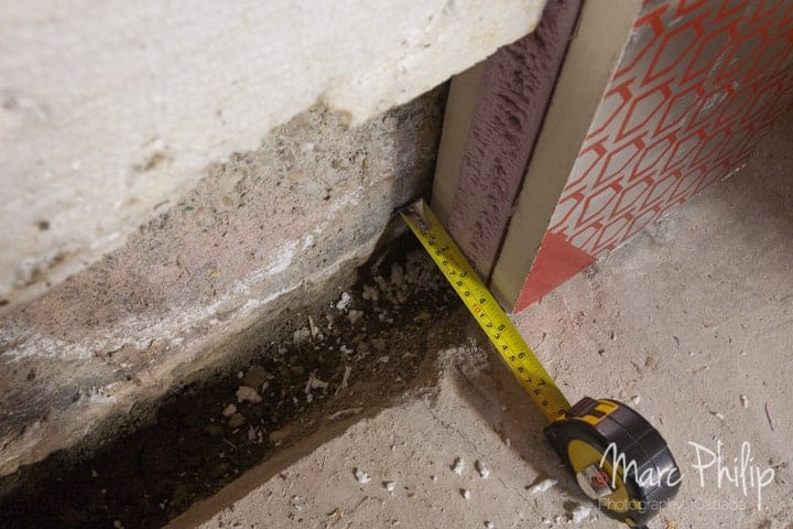 Isolation thermique des murs internes