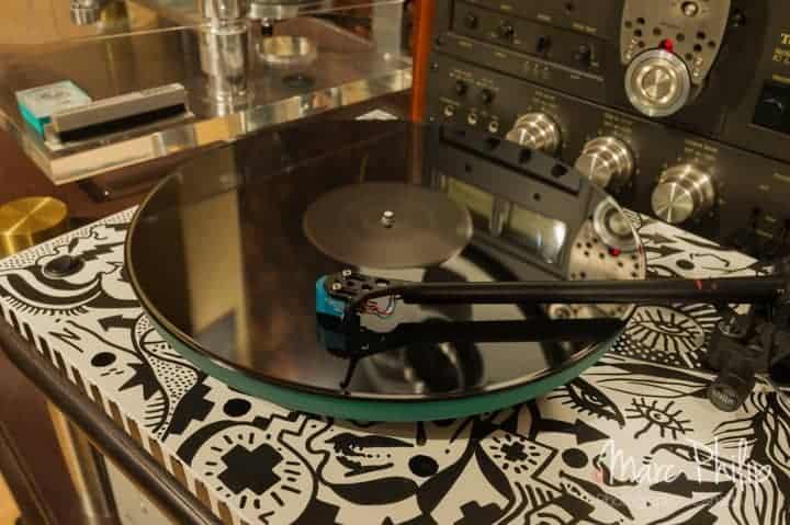 Cellule Charisma Audio MC-2 sur Rega RP-3 signée Zilon
