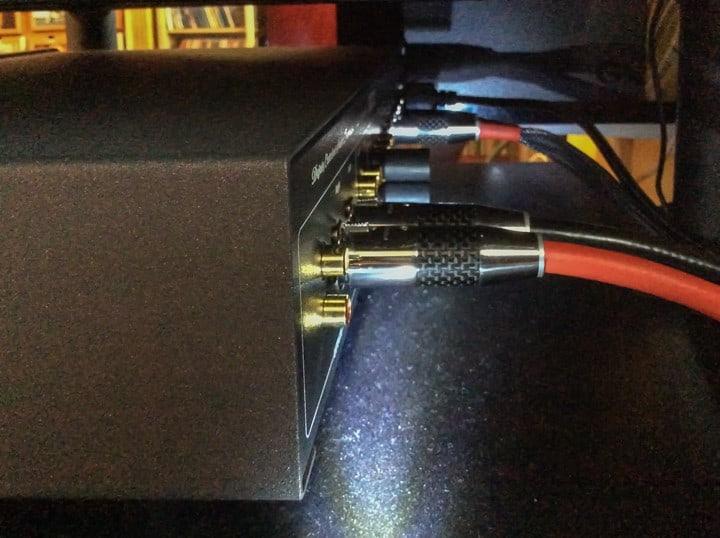 Câbles XLR sur connecteurs Furutech rhodium + carbone