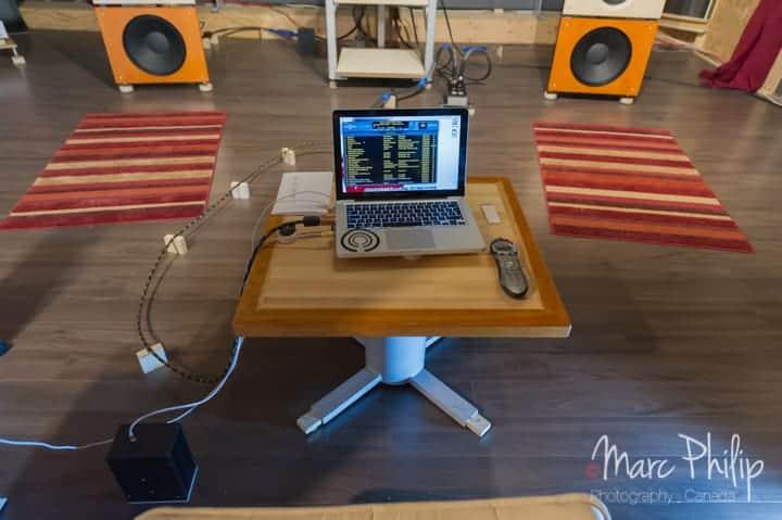 Mac Book Pro i5 optimisé pour reproduire fidèlement la musique dématérialisée.
