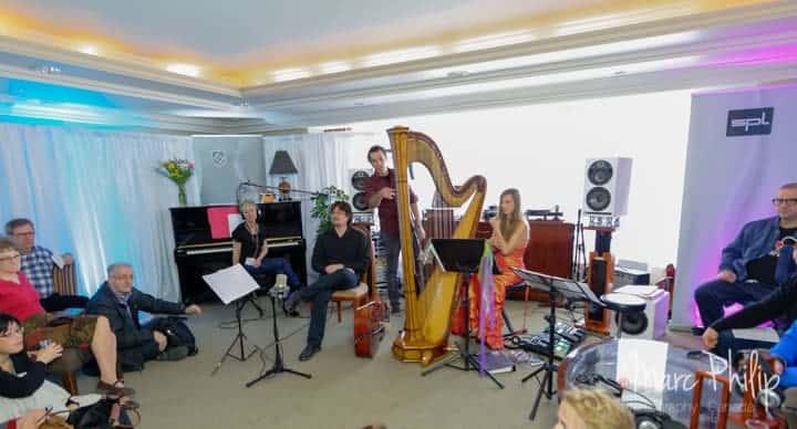 Une partie des musiciens dans la suite Grado
