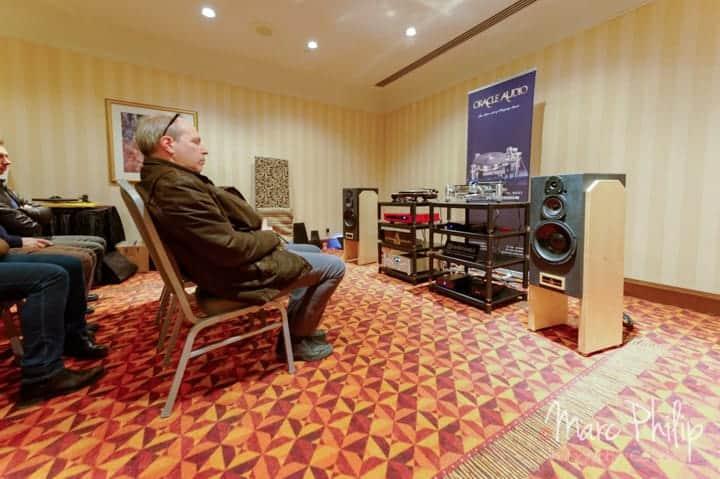 Le système stéréo Oracle Audio et Gershman Acoustics
