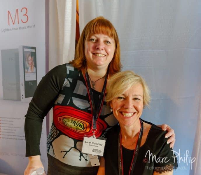 Sarah Tremblay et Anne Bisson