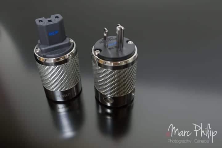 Furutech FI-50-NCF(R) IEC & Male plug