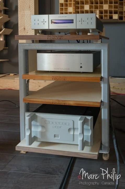 CDP integris + Bryston 14B SST3 sont les électroniques utilisées avec les Jean-Marie Reynaud Offrande Supreme V2