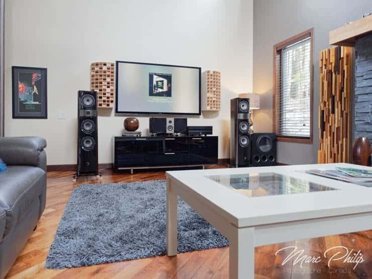traitement acoustique salon familial