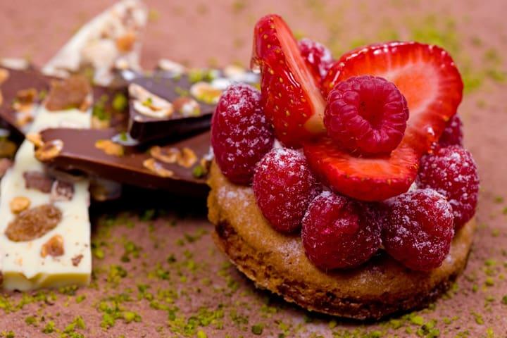dessert élaboré et musique